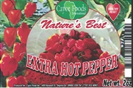 EXTRA HOT PEPPER