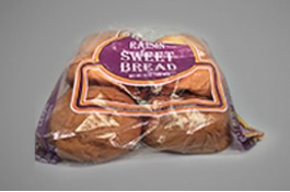 RAISEN SWEET BREAD 16OZ