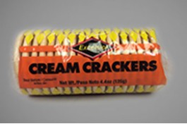EXCELSIOR CREAM CRACKERS 125G